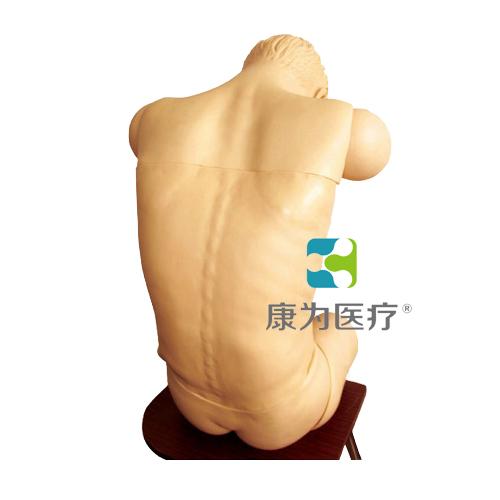 """""""康为医疗""""成人综合穿刺术技能训练标准化模拟病人(前倾坐位)"""