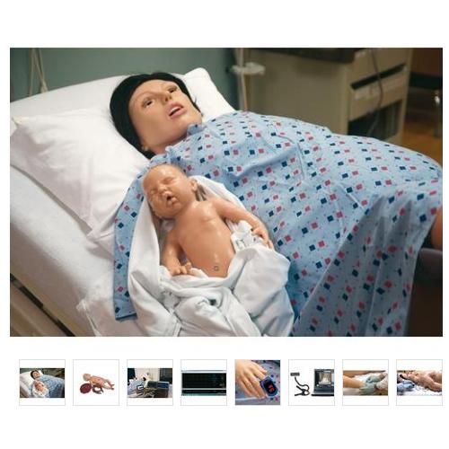德国3B Scientific®SMART MOM Basic 分娩模拟人