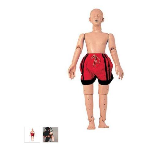 德国3B Scientific®水中救护模型,带复苏功能(青少年),121公分
