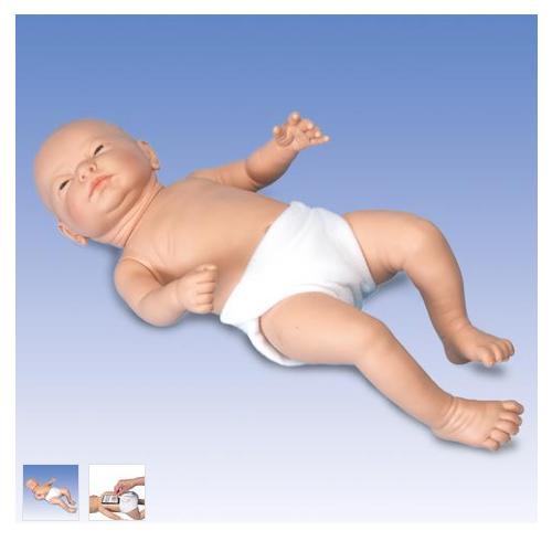 德国3B Scientific®Ready-or-Not-Tot® 互动婴儿模型,男婴