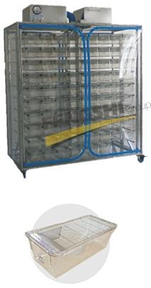 微屏障试验动物饲养笼具