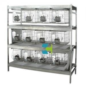 """""""康为医疗""""不锈钢干养式实验兔笼(3层×4=12笼)"""