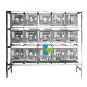 """""""康为医疗""""不锈钢干养式实验兔笼(3层×5=15笼)"""