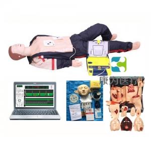 """""""康为医疗""""高级心肺复苏、AED除颤及创伤标准化模拟病人(计算机控制、三合一组合)"""